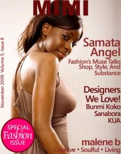 Samata's MIMI magazine cover