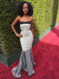 Wearing Samata at the Oscars 2016