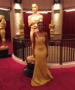 Red Carpet Green Dress for Oscars 2017