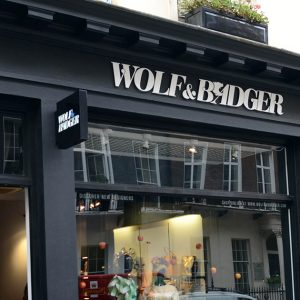 Discover well-made, distinctive fashion from Wolf & Badger