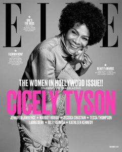 Cicley Tyson on ELLE