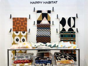 The Joyful, Unique and Sustainable Happy Habitat Throws
