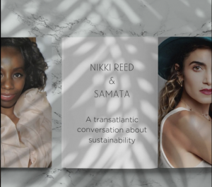 A transatlantic conversation between RCGD and Nikki Reed about sustainability