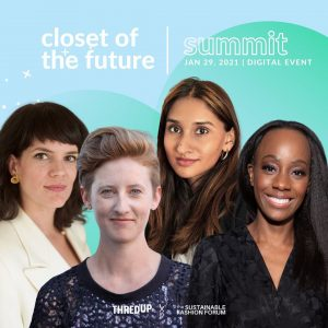 The Sustainable Fashion Forum – 'Take Action' Panel for Our Closet of The Future Summit