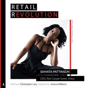 Conversation with Samata Pattinson, CEO, Red Carpet Green Dress